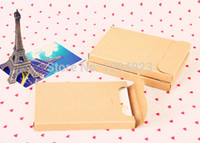 "Wholesale Photo Playing Cards - Wholesale- Joy 4"" x6"" Postcard packaging box kraft Photo Boxes ,playing card packaging box Free Shipping"