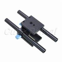 Wholesale Dslr Base Plate - Rapid Quick Rail Rod Support System 15mm Baseplate Base Plate Mount for Pocket Cinema Camera DSLR Tripod Follow focus Baseplate