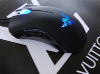 Wholesale Deathadder Mice - 10pcs Top quality Razer Death Adder Mouse(Upgrade) 3500DPI Competitive games must razer deathadder Factory Offer with retail package