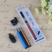 Wholesale China Wholesale Vaporizer - Dab Pen Mini CE3 Blister Kit eGo 510 battery O-Pen Bud Touch Vape Pens Oil Herbal Vaporizer China Direct By ePacket