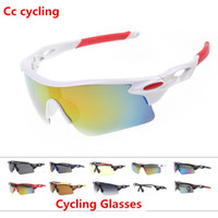 Wholesale motorcycle plastic pink - Ropa Ciclismo 2016 Cycling Glasses UV400 Outdoor Sports Windproof Eyewear Mountain Bike Bicycle Motorcycle Glasses Sunglasses