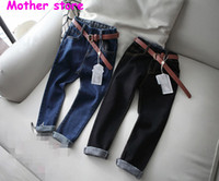 Wholesale Chinese Fashion Jeans - Wholesale-Fashion Solid Blue Color Hot jeans shorts 2-7Y boys men 2016 leisure boy short jean summer casual pants