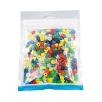 Wholesale Color Grommets - New Arrival Tattoo Accessories Mixed Color Tattoo Needle Grommets EZ -SNC Sllicone Soft Nipples 300 PCS Pack