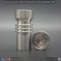 Wholesale Nail Rt - Domeless titanium nail 14mm 19mm Female Omni RT, similar to Omni Nail of Santa Cruz Shredder, for Smoke Shop Wholesale Only