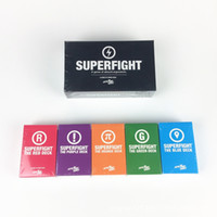 SUPERFIGHT Cards Game main game Y The Expansion Pack Red Blue Orange Purple Green El Card Game Core Card Deck