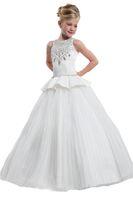 Wholesale Children Dance Images - 2016 New Perfect Angels by Rachel Allan 1635 Ball Gowns Princess Long Kids Birthday Dance Ball Children Wedding Junior Bridesmaids Dresses