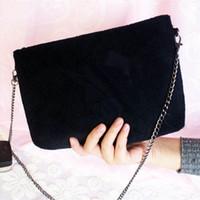 Wholesale Cosmetic Items - Cosmetic Bag Beauty Crossbody Clutch Single chain shoulder bag,zipper bag,black fashion women bag,Vip Gift Item