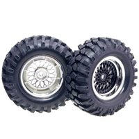 Wholesale rc rally - RC HSP 2083-7006 Wheel Offset:6mm&Rally Rubber Tires For 1:10 On-Road Rally Car