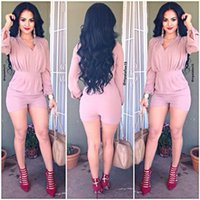 Wholesale Chiffon Longsleeve Shirt - 2016 Hot Sale Women Dress New Stylish Party Longsleeve Shirt Print Tracksuit Women Short Pants Pullover Tops Girls Set Sport Suits 5092