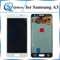 Compra Prova Della Galassia-Alta qualità di copia da 4,5 pollici per Samsung Galaxy A3 A3 2015 A300 A300X Display LCD Touch Screen Digitizer Assembly Replacement 100% Test