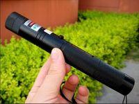 faisceau bleu lampe de poche achat en gros de-Plus puissant 532nm 10 Mile SOS haute puissance LAZER lampe de poche militaire vert rouge bleu violet pointeurs laser stylo faisceau de chasse enseignement