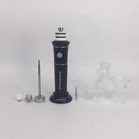 Wholesale Wholesale Bubble Pens - Electric Water Bongs Portable Henail Plus G9 Wax Pen 3.0 Dab Rig With Quartz Titanium Nail Glass Bubble Attachment Nail Kits