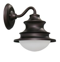 Wholesale Vintage Glass Light Cover - Vintage Iron Lamps lighting balcony waterproof outdoor wall lamp Milkly Cover Shade Down X4