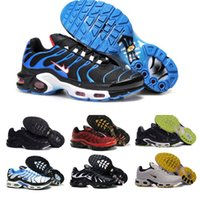 Wholesale Media Plus - Original TN Air Shoes Mens And Womens Running Shoes Air Plus TN Ultra Shoes Sports TN Requin Sneakers 36-46