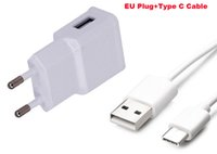 Wholesale nexus wall charger - 2A EU Plug Wall Cell Phone Charger Portable Travel Mobile Phone Charger+Type C USB Data Cable For LG G5 SE G5 Lite H840,G5 H830,Nexus 5X