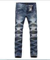 Wholesale Male Jeans Korean New - New arrival!2016 male DG spring new Korean cowboy Slim small straight jeans