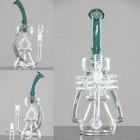 Wholesale new lamp design - New Hookahs 29cm Tall Lamp Shaped Glass Bongs 14.4 Joint Size Hot sale Unique design Free shipping