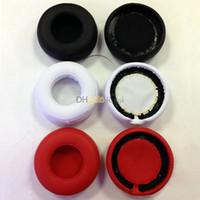 Wholesale Pro Pad Cushions - Wholesale 10pairs lot Replacement Earpads Ear Pads Foam Pro's Cushion foam Cover for beatspro PRO DETOX headphones red black white