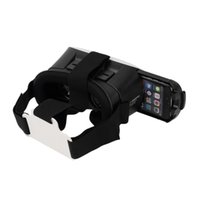 Wholesale Universal Cinema - Universal Google Cardboard VR BOX 2 Virtual Reality 3D Glasses Game Movie 3D Glass For iPhone Android Mobile Phone Cinema Newest