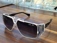 Wholesale Hiphop Glasses - Cool Vintage Rare Cazals 951 White Black frame Sunglasses Grey Lens Crazy Beautiful Germany rare sunglasses HipHop Brand New with Box