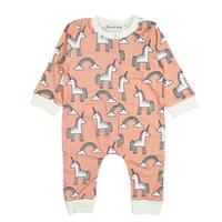 a59fd45bb521 CAD  9.68. Newborn Kids Boy Girl Animal Printing Short Sleeve Baby Girl  Rompers Cotton Soft Summer ...