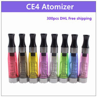 Wholesale Ego X6 Electronic Cigarette - CE4 electronic cigarette atomizer 1.6ml - ecig vaporizer clearomizer 510 thread for battery vision spinner EVOD ego twist x6 x9
