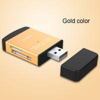 ingrosso ms pro card reader-Multi All in 1 Adattatore per lettore di schede di memoria Micro USB 2.0 per Micro SD SDHC TF M2 MMC Lettore di schede MS PRO DUO Hot-sale