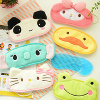 Wholesale Eyes Adjust - Cute Little Animal Shading Sleep Patch Ice&hot Compress Travel Patch Belt Can Be Adjusted Eye Mask