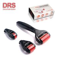 Wholesale Skin Micro Needling - Best sale DRS derma roller microneedle 4 in 1 dermaroller skin rejuvenation micro needle meso roller manufacturer