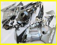 Wholesale 95 Cbr Fairing Kit - Motorcycle Fairing kit for HONDA CBR600F3 95 96 CBR600 F3 1995 1996 CBR 600F3 Silver gloss black Fairings set