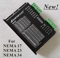 Wholesale 36v Ac Motors - New! CNC Stepper Motor Driver MD450 For NEMA 17 23 34 Stepper Motor 1.0-4.5A DC18-50V AC 18-36V Super Low Noise Vibration
