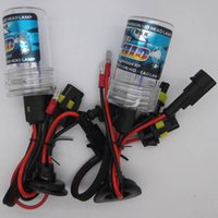 H8 Car HID Xenon bulb Lámpara de luz 35W / 55W Car Headlight 4300K ​​5000K 6000K 8000K 10000K 12000K