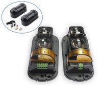 Wholesale Dual Beam Detector - 1 pair Newest Photoelectric Dual Beam Perimeter Fence Active Infrared IR Sensor Barrier Detector , Transmitter Receiver ABT-100