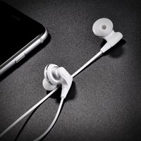 Wholesale Phone Wire Connectors - White Lightning Headphones for Iphone 7 Cell Phone Lightning Earphones Music Lightning Connector Digital Audio Headphone for Apple Iphone