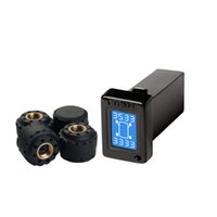 Wholesale Mazda Series - High Accuracy buzzer alarm Wireless Tire Pressure Monitoring System Special TPMS for Toyota Series with External Sensors