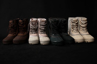Wholesale Cheap Buckled Boots - 1:1 quality With Original Box Cheap boost 950 Boots kayne west 950 boost boots For Women Men boost 750 950 boots Moonrock Pirate Black