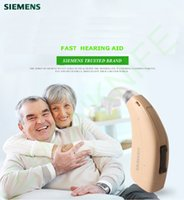 Wholesale Digital Ear Hearing Aids - DHL shipping arrive in 5-7 days New Updated Siemens Touching FAST P Digital Hearing Aid BTE Ear Aids HIGH-POWER hearing aid