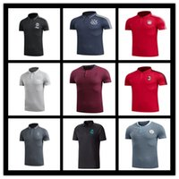 Wholesale Men S Outdoor Cotton Shirts - THAI QUALITY 2017 2018 Season soccer Jersey summer best-selling football club casual short-sleeved T-shirt POLO men outdoor sports jersey