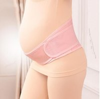 Wholesale pregnancy maternity - Pregnant Postpartum Corset Belly Belt Maternity Pregnancy Support Belly Band Prenatal Care Athletic Bandage KKA2699