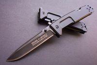 couteau pliant extrema ratio nemesis achat en gros de-EXTREMA RATIO - Lame Nemesis Epaisseur 4mm / 6MM Couteau pliant tactique en option 6061-T6 Manche Aluminium 440C 58HRC Boîte noire
