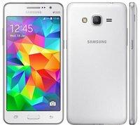 orijinal çift sim cep telefonları toptan satış-Orijinal Samsung Galaxy Grand Başbakan G530 G530H Ouad Çekirdek Çift Sim Unlocked Cep Telefonu 5.0 Inç Dokunmatik yenilenmiş telefon