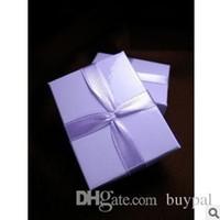 ingrosso contenitori di regalo dei monili viola-Monili all'ingrosso di alta qualità di imballaggio e di visualizzazione Contenitore di regalo di gioielli Scatola di regalo romantico anello di colore viola RJ1320 0416dd