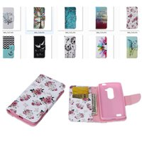 Wholesale Colorful Nexus Cases - For LG LEON LS770 G4 stylus nexus 5x Huawei Y360 Case Classic Hot Colorful Leather Cases Flip Wallet Cover Fundas Card Holder