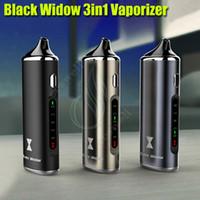 ingrosso e modi vaporizzanti su succo-Autentico Black Widow Kingtons 3in1 cera secca mod box kit a base di erbe vaporizzatore e succo Liquido vapore mods vape e sigarette Kit DHL