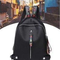 campus de sac à dos étudiant achat en gros de-Mode nouvelles dames grande capacité loisirs de plein air voyage sac à dos campus étudiant Oxford sac en tissu sac à bandoulière