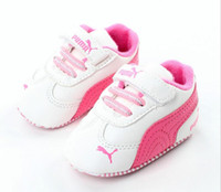 Wholesale baby moccasins shoes - Brand Spring Baby Shoes PU Leather Newborn Boys Girls Shoes First Walkers Baby Moccasins Months
