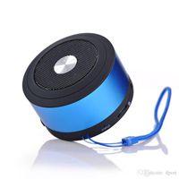 Wholesale N8 Speaker - 2016 NEW N8 Bluetooth Speaker 3.5mm Audio Port TF Card Slot Speaker Box With MIC Support Hand Free Calls