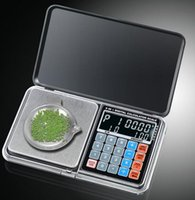 Wholesale pocket calculators - LCD 6 in 1 Multi-function Electronic Scales Digital 0.01*500g weight balance With Palm Calculator Deisgn for silver jewelry