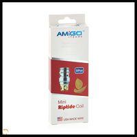 Wholesale Vogue Mini - Amigo Mini Riptide Coils 0.5ohm Mini Riptide Tank Replacement Coils Heads Fit Vogue 50w Kit