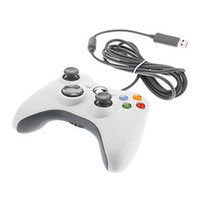 Wholesale Xbox Game Wholesale - USB Wired Game XBOX 360 Controller Gamepad Joypad Joystick For Xbox 360 accessory For Laptop computer PC